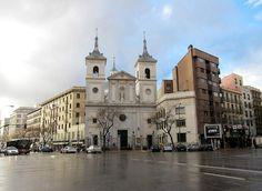 Iglesia de Santa Teresa y Santa Isabel | Viendo Madrid la Iglesia donde estoy Bautizado