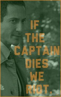 """If the Captain Dies We Riot"""