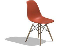 Plastic Side Chair (dowel leg) - Ray and Charles Eames (1948)