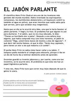 Audición y Lenguaje & Pedagogía Terapéutica - Lápiz de ele Spanish Lessons For Kids, Montessori, Comprehension, Teaching, School, Butterflies, Language Arts, Vocabulary, School Study Tips