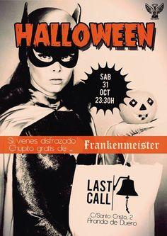 El Halloween de Last Call Aranda para los jóvenes. ¡Chupito gratis si vas disfrazado! — en Ribera del Duero.