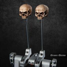 Grim Skull Drum Beaters