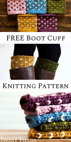 FREE Fair Isle Boot Cuff Knitting Pattern by Brome FieldsYou can find Boot cuffs and more on our website.FREE Fair Isle Boot Cuff Knitting Pattern by Brome Fields Knitted Boot Cuffs, Crochet Boots, Knitting Socks, Free Knitting, Vintage Knitting, Knitting Machine, Boot Toppers, Tejido Fair Isle, Fair Isle Knitting Patterns