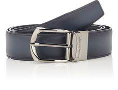 ERMENEGILDO ZEGNA Reversible Leather Belt. #ermenegildozegna #belt