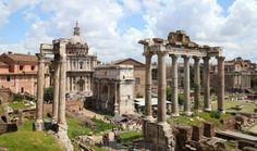 Melhores pontos turísticos em Roma - Fórum Romano