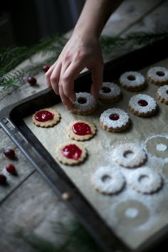 Sweet Tooth Girl | sweetoothgirl:   Jam Filled Cookies
