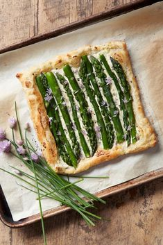 Brunch Recipes, Baby Food Recipes, Healthy Recipes, Quiches, Asparagus Tart, Fresh Chives, Recipe Organization, Empanadas, Food Truck