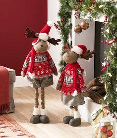 Christmas Moose, Christmas Scenes, Christmas Time, Christmas Stockings, Xmas, Christmas Ornaments, Moose Crafts, Holiday Crafts, Holiday Decor