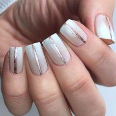 Idées de Nail Art Une Rayure
