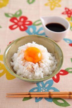 Tamago Kake (Japanese Rice with Raw Egg)