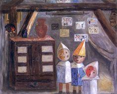 Tadeusz Makowski - W pracowni, 1929