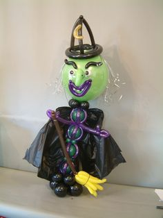 The evil witch!!