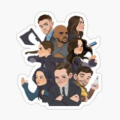 Agents Of Shield May, Agents Of S.h.i.e.l.d, Marvels Agents Of Shield, Shield Drawing, Shield Cast, Marvel Background, Marvel Series, Cute Quotes, Cute Stickers