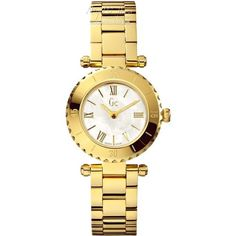 Gc Ladies' Gc Mini Chic Gold PVD Bracelet Watch- X70008L1 - £295  - http://www.nigelohara.com/dreyfuss-mens-automatic-bracelet-watch-dgb0001619-pid18064.html  Or view our full GC range here: http://www.nigelohara.com/gc-watches/