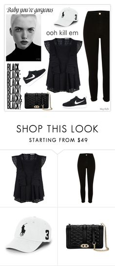 """Baby you're gorgeous!"" by mcheffer ❤ liked on Polyvore featuring Rebecca Minkoff, Polo Ralph Lauren and NIKE"