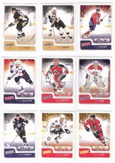 "2011 / 2012 Upper Deck Victory Hockey ""Stars of the Game"" Complete Mint Hand Collated 25 Card Insert Set Including Alexander Ovechkin, Carey Price, Jonathan Toews, Patrick Kane, Ryan Miller, Sidney Crosby, Steven Stamkos, Tim Thomas, Zach Parise and Others. by Upper Deck. $29.99. This is the 2011 / 2012 Upper Deck Victory Hockey ""Stars of the Game"" complete mint hand collated 25 card insert set; it was never made in factory form. Loaded with stars including Alexander Ovechkin, C..."