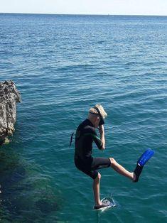 Freediving kids
