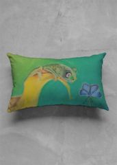 The design for this pillow was a drawing I made with pastel cray. I totally love its vivid colors. Hope you do so too.  #design #drawing #shopvida #pastelcray #art