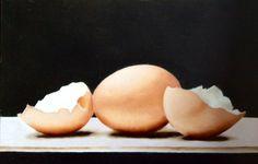 Eieren Olieverf
