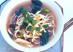 Miso Ramen Chicken Soup - CookingBride.com