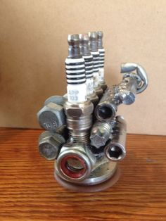 Rare Turbo Charged 4 Cyl Motor Replica 2.0 1.8 Sparkplugs Vw Audi Gm Tuner Tool in Collectibles | eBay