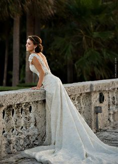 Wedding at The Biltmore Hotel, Miami: Jessica and Michael Morse / Photo by Maloman Studios