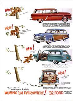 1952 Ford Country Sedan Ad