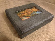 Upcycled Van Gogh Sunflower Jewelry Box by KelkoDesign on Etsy, $22.00.  Very nice treatment of a cigar box to a jewelry or trinket box.