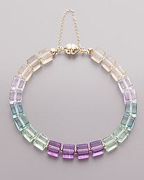 Sogni d \ 'oro Collections bracelet with fluorite
