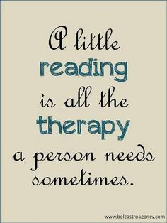 A little reading is all the therapya person needs sometimes | Anonymous ART of Revolution