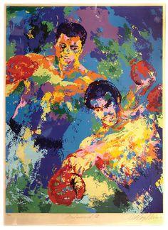London Playboy 1966 LeRoy Neiman artwork
