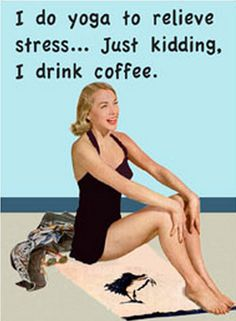 What is your go-to stress reliever? Can you guess what ours is? #MrCoffee #Coffee #CoffeeHumor