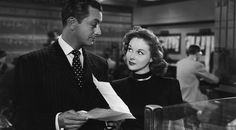 susan hayward and robert young - they won't believe me 1947 Classic Film Noir, Classic Films, Robert Young, Susan Hayward, Tough Guy, Classic Hollywood, American Actress, Movie Stars, Believe