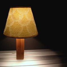 love this pin-hole lamp shade!  Great DIY idea to revamp and old shade.