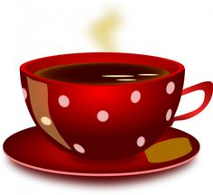 Red with White Polka Dots Coffee