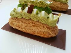 I Dolci di Pinella: Eclairs alla vellutata di pistacchio di Michelak - I dolci di Pinella