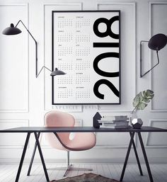 Looking for cool 2018 calendars and planners before January hits? Check out this list of 36 - filled with different types of calendars and planners.