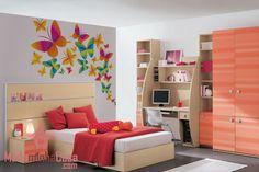 Esse adesivo de parede é uma forma impecável para decorar o quarto das garotas. Composto de inúmeras borboletas com muitas variedade de cores e tamanhos que se agrupam e formam uma paisagem espetacular e graciosa. O cantinho das meninas vai ficar com aspecto fascinante e astral contagiante.