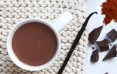 These antioxidant-rich drinks will warm up your cooldown. Enjoy one after your cold winter run. Healthy Weeknight Meals, Mexican Hot Chocolate, Sports Nutrition, World Recipes, Winter Food, Mexican Style, Just Desserts, Sweet Treats, Clean Eating