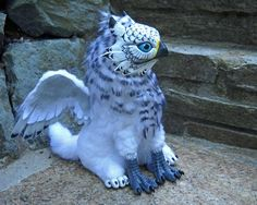 White Griffin by kimrhodes