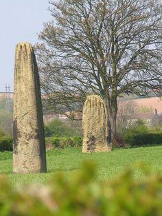 The Devil's Arrows. Boroughbridge, North Yorkshire