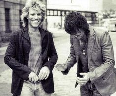 Jon and Richie laughing it up