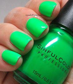 Sinful Colors - Irish Green