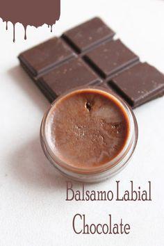 Chocolate Adiction: Bálsamo labial de chocolate