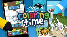 Coloring Games for Kids Online Elegant Hellokids Coloring Time App Online Games Hellokids Farm Animal Coloring Pages, Coloring Books, Ios, Coloring Games For Kids, Free Online Coloring, Online Games For Kids, Color Games, Autism Resources, Applications