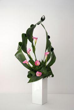 Ikebana - nghệ thuật cắm hoa đạo hút hồn người chơi Việt bạn sẽ thấy được sự khác lạ và mới nhất của dòng hoa này