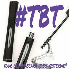 Younique TBT.. Throw out your old stuff & Get the new 3D+ FiberLash Mascara, $29 www.youniqueproducts.com/rjedge