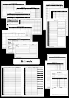 Homekeeping Binder Printables Calendar And To Do List