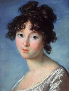 Élisabeth Vigée Le Brun - Aniela Czartoryska, née Radziwiłł, 1801