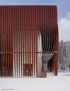 Image 7 of 25 from gallery of Nebuta-no-ie Warasse / Molo, d/dt, Frank La Riviere Architects. Photograph by Frank La Riviere Folding Architecture, Detail Architecture, Parametric Architecture, Contemporary Architecture, Interior Architecture, Parametric Design, Chinese Architecture, Futuristic Architecture, Ancient Architecture